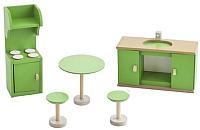 Комплект аксессуаров для кукольного домика Paremo Кухня / PDA417-03 -