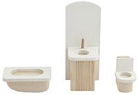 Комплект аксессуаров для кукольного домика Paremo Ванная комната / PDA517-01 -