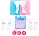 Комплект аксессуаров для кукольного домика Paremo Постельные принадлежности / PDA115 -