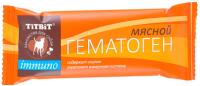 Лакомство для собак TiTBiT Immuno гематоген мясной / 005910 -