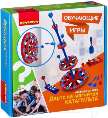 Магнитный дартс Bondibon Катапульта / ВВ2412
