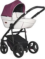 Детская универсальная коляска Riko Basic Aicon Pro 3 в 1 (02/бордовый) -