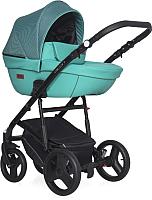 Детская универсальная коляска Riko Basic Aicon Pro 3 в 1 (04/бирюзовый) -