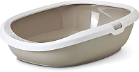 Туалет-лоток Savic Gizmo Large 20160WMC (белый/мокко) -