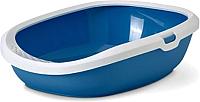 Туалет-лоток Savic Gizmo Large 20160WTB (белый/голубой) -