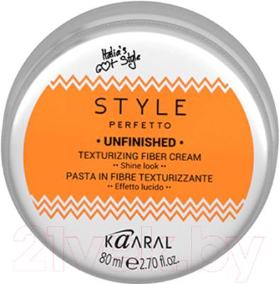 Паста для укладки волос Kaaral Style Perfetto Unfinished текстурирующий (80мл)