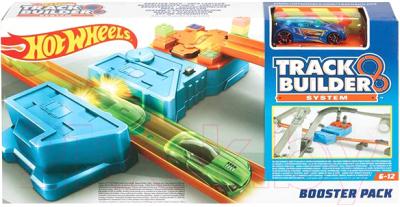 Автотрек гоночный Hot Wheels Track Builder / GBN81 mattel автотрек hot wheels винтовое столкновение