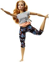 Кукла Barbie Made to move. Йога / FTG80/FTG84 -