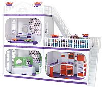 Кукольный домик Огонек Конфетти / С-1330 (без мебели) -