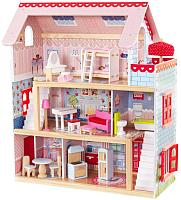 Кукольный домик KidKraft Открытый коттедж / 65054-KE (с мебелью) -