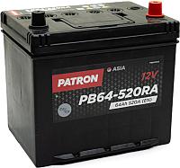 Автомобильный аккумулятор Patron Asia PB64-520RA (64 А/ч) -