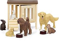 Комплект аксессуаров для кукольного домика Lundby Домашних животных / LB-60807500 -