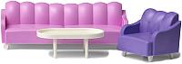 Комплект аксессуаров для кукольного домика Lundby Базовый набор для гостиной / LB-60305400 -