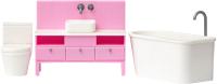 Комплект аксессуаров для кукольного домика Lundby Ванная комната / LB-60305700 -