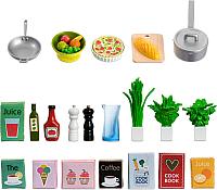 Комплект аксессуаров для кукольного домика Lundby Набор кухонных аксессуаров / LB-60508900 -