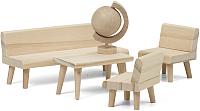 Комплект аксессуаров для кукольного домика Lundby Гостиная / LB-60906100 -