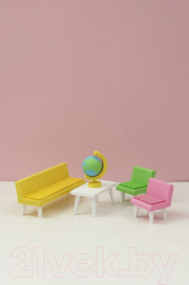 Комплект аксессуаров для кукольного домика Lundby Гостиная / LB-60906100