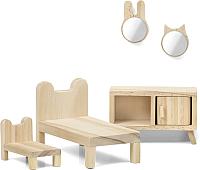 Комплект аксессуаров для кукольного домика Lundby Спальня / LB-60906200 -