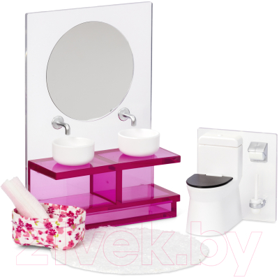 Комплект аксессуаров для кукольного домика Lundby Ванная комната / LB-60306100