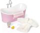Комплект аксессуаров для кукольного домика Lundby Ванная с аксессуарами / LB-60306300 -