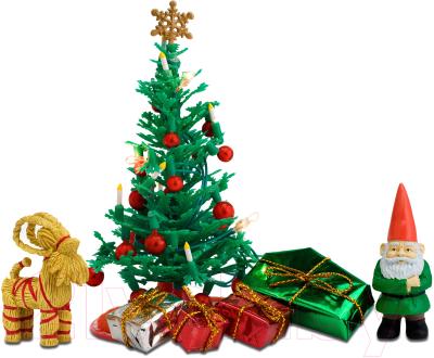 Комплект аксессуаров для кукольного домика Lundby Рождественский набор / LB-60604700