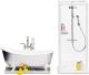 Комплект аксессуаров для кукольного домика Lundby Ванная и душевая / LB-60208900 -