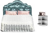 Комплект аксессуаров для кукольного домика Lundby Спальня / LB-60200600 -