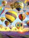 Картина по номерам Picasso Небесный парад над лавандовым полем (PC4050614) -