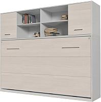 Комплект мебели для спальни Интерлиния Innova H90 (вудлайн/белый) -