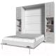 Комплект мебели для спальни Интерлиния Innova V140-1 (бетон/белый) -