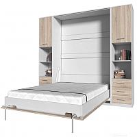 Комплект мебели для спальни Интерлиния Innova V140-1 (дуб сонома/белый) -