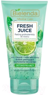 Скраб для лица Bielenda Fresh Juice лайм интенсивный детоксифицирующий