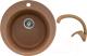 Мойка кухонная Gerhans A04 + смеситель LL5936B-23 (терракот) -