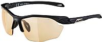 Очки солнцезащитные Alpina Sports Twist Five HR VLO+ / A85921-35 (черный) -
