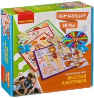 Настольная игра Bondibon Веселая анатомия / ВВ3792 -
