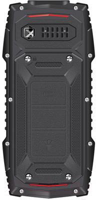 Мобильный телефон Texet TM-519R (черный/красный)