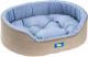 Лежанка для животных Ferplast Dandy 80 / 82944095 (серый/голубой) -