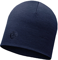 Шапка Buff Heavyweight Merino Wool Hat Solid Denim (113028.788.10.00) -