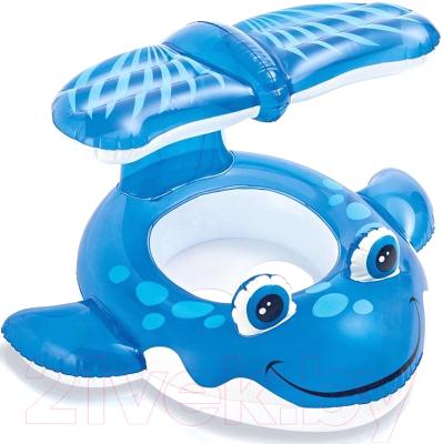 Надувные ходунки Intex Голубой кит / 56591