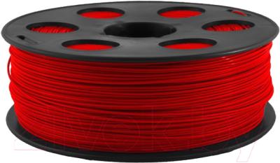 Пластик для 3D печати Bestfilament ABS 1.75мм 1кг (красный)