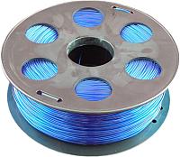 Пластик для 3D печати Bestfilament PET-G 1.75мм 1кг (флуоресцентный голубой) -