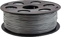 Пластик для 3D печати Bestfilament PLA 1.75мм 1кг (серебристый металлик) -
