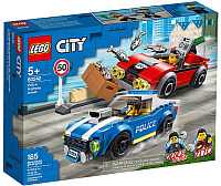 Конструктор Lego City Police Арест на шоссе 60242 -