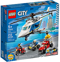 Конструктор Lego City Police Погоня на полицейском вертолёте 60243 -