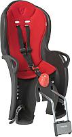 Детское велокресло Hamax Sleepy / HAM551501 (черный/красный) -