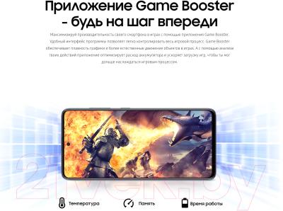 Смартфон Samsung Galaxy A51 128GB / SM-A515FZKCSER (черный)