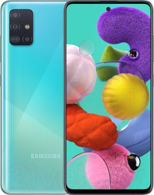 Смартфон Samsung Galaxy A51 128GB / SM-A515FZBCSER (синий)