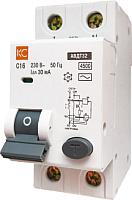 Дифференциальный автомат КС АВДТ-32 2P С 10А/30мА -