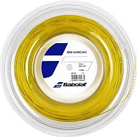 Струна для теннисной ракетки Babolat RPM Hurricane / 243141-113-125 (200м, желтый) -