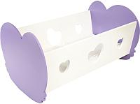 Аксессуар для куклы Paremo Кроватка-люлька / PFD120-34 (нежно-сиреневый) -